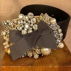 CAbi Fabulous sparkling buckle never worn belt
